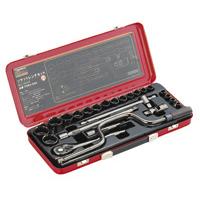 取寄 TSW4-24S ソケットレンチセット(差込角12.7mm) TSW4-24S TRUSCO(トラスコ) 1個