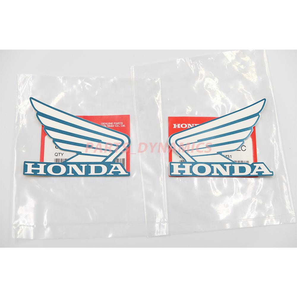 ホンダ純正 信頼 ウイングマーク ステッカー 左右セット Wing Mark GENUINE Sticker HONDA セール PARTS クリックポスト送付