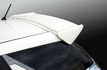 【ブレス】フィットシャトル/リヤスポイラー 塗装済 アラバスターシルバーメタリック