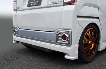 【ブレス】ウェイク リアアンダースポイラー 塗装済 オフビートカーキメタリックG55