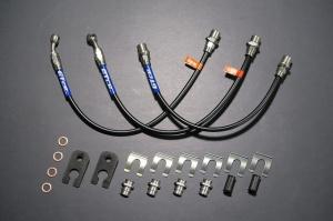 ブレーキライン / ホース【GTカープロデュース】ステンメッシュブレーキホース ハイゼットトラック(S500P/S510P)用