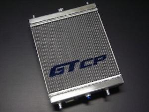 ラジエーター / クーリングパネル【GTカープロデュース】アルミ2層大容量ラジエター キャリイ(DA63T)M/T車用