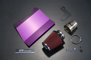 エアクリーナー キット【GTカープロデュース】ファンネルエアクリーナー ハイゼットトラック(S500P/S510P)用 オートマ車用