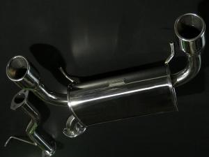 ステンマフラー【GTカープロデュース】オールステンレスマフラー タイプW キャリイ(DA63T/62T/52T)用 DA63T9、10型(車台番号680001~現行)