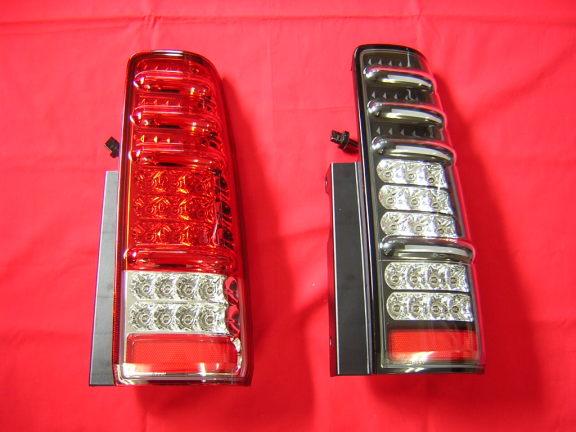 【カースタイル】JB23 m-BRO LEDテールランプ ブラック