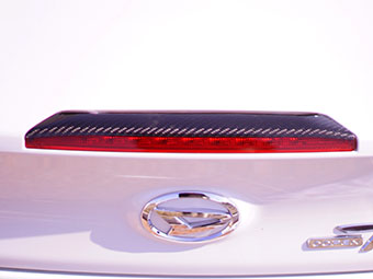 コペン | その他 外装品【シーシースポーツ】コペン LA400K ハイマウントストップランプカバー〈綾織カーボン製〉※クリア塗装済