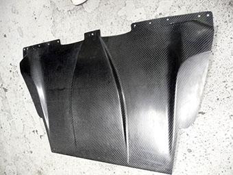 コペン | リアアンダー / ディフューザー【シーシースポーツ】コペン L880K ディフューザーパネル Butt Plate[CFRPカーボン製](半艶クリア塗装済)