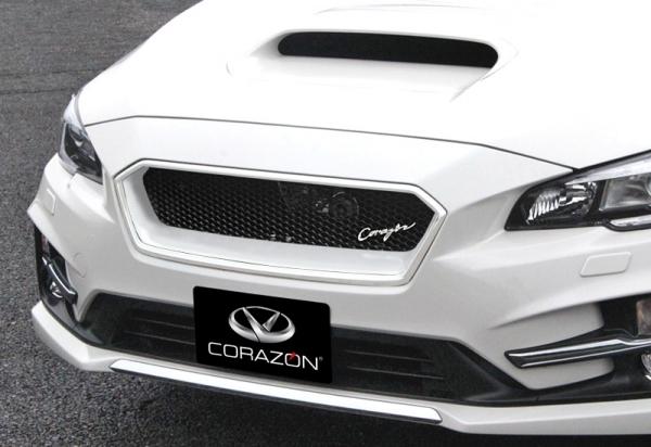 ヘキサゴンネット C型 | FRP フロントグリルタイプS フロントグリル【コラゾン】レヴォーグ レヴォーグ VM4/VMG ラピスブルーパール STiスポーツ