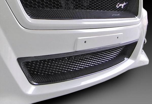 レヴォーグ | フロントグリル【コラゾン】レヴォーグ VM4/VMG A-C型 (STI除く) フロントアンダーグリル FRP クリアブラック塗装済 ヘキサゴンネット