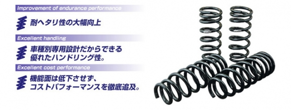 【ゴジゲン】5ZIGEN SUPER LOWEEING スーパーローイング 【ダウンサス】 ムーウ゛ 【L160】 EF-VE [H14/10~] NA/ターボ カスタム