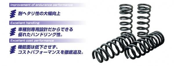 【ゴジゲン】5ZIGEN SUPER LOWEEING スーパーローイング 【ダウンサス】 レガシィーツーリングワゴン 【BP5】 EJ20 [H15/5~21/5] 2.0L 2/4WD NA/ターボ