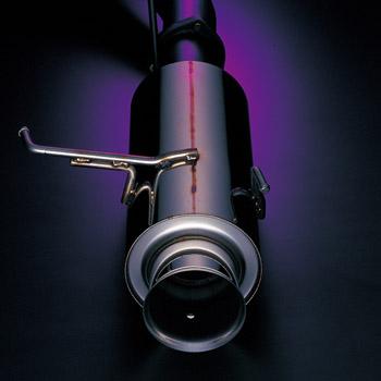 【ゴジゲン】マフラー BORDER304SPEED (ボーダー304スピード) CR-X 【E-EF8】 [H1/9~H3/8] 競技専用