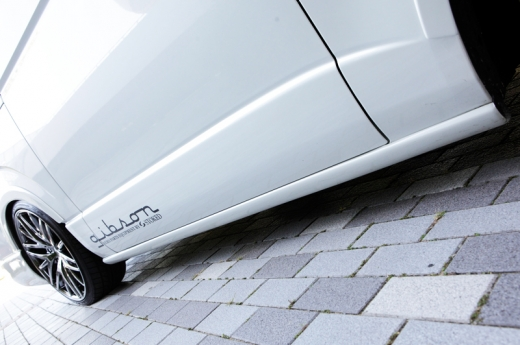 サイドステップ【ギブソン】ハイエース 200系 1-4型 ワイドボディ ミドル サイドステップ 未塗装 5ドア