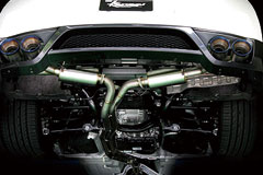 【Kansaiサービス】NISSAN GT-R/R35 Rチタンデュアルマフラー R35 【 JASMA認定 2010/4以降登録車車検非対応 】