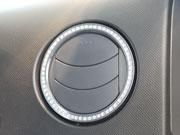 【ハルトデザイン】スズキ ラパン エアーベント(クリスタル/2pcs) SUZ-LAP-AB-SV