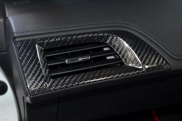 S660 | インテリアパネル【アールエスダブリュ】S660 ベンチレーターパネル(助手席用) 綾織ブラックカーボン製