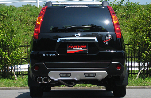 【フジツボ】マフラー オーソライズS(AUTHORIZE S) (ニッサン エクストレイル、TNT31 エクストレイル 2.5 NA 4WD [H19.08~H20.11、CBA-TNT31、QR25DE]) 【 受注生産品 | 純正オプション X-TREMER Package 「リヤアンダーカバー(GBNE0)、マッドガード(GBH00)