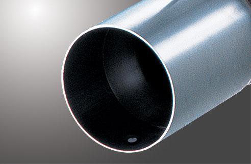 【フジツボ】マフラー スーパーTi(Super Ti(砲弾タイプ)) (ニッサン スカイラインGT-R、BNR34 スカイラインGT-R [H11.01~H14.08、GF-BNR34、RB26DETT]) 【 受注生産品 | Vスペック共通 | 112φストレート(チタン・穴あり) 】
