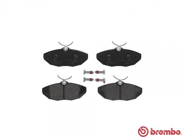 【ブレンボ】ブレーキパッド JAGUAR/DAIMLER S TYPE [ J01HC J01HD ][ 02/07~08/04 ][ REAR ] 【 ブラック | 車台No.M45255→N52047/《グレード》4.2 V8 】