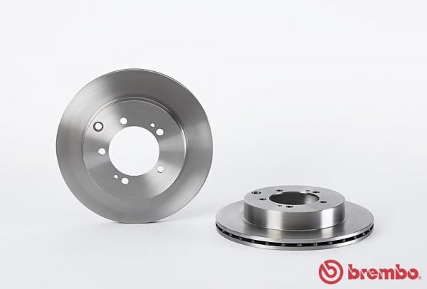 【ブレンボ】ブレーキローター MITSUBISHI GTO [Z15A][94/8~00/08][REAR] 【 16inch wheel(NA) 】