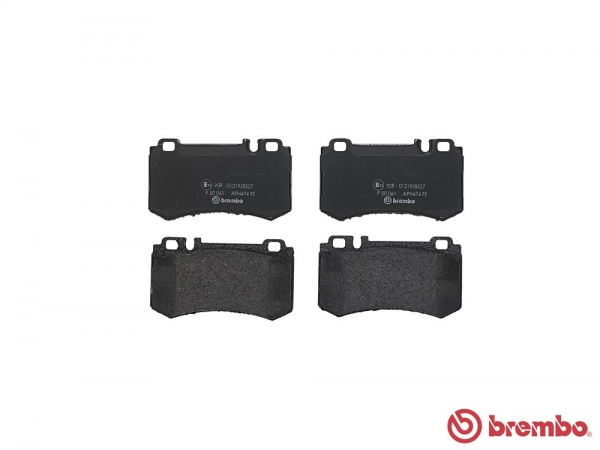 【ブレンボ】ブレーキパッド MERCEDES BENZ W220 [ 220179 ][ 02~ ][ REAR ] 【 ブラック | Front 8POT/《グレード》AMG S63L/S65L 】