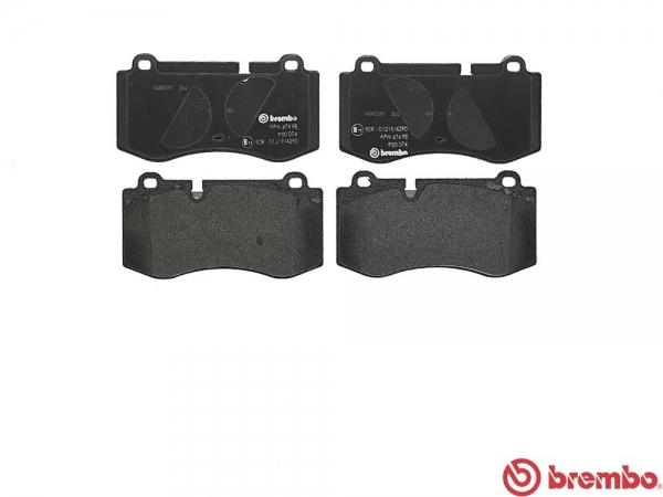 【ブレンボ】ブレーキパッド MERCEDES BENZ W221 [ 221056 ][ 05/10~11/07 ][ FRONT ] 【 ブラック | AMG Sports Edition / AMG Sports Package 含む/《グレード》S350 】