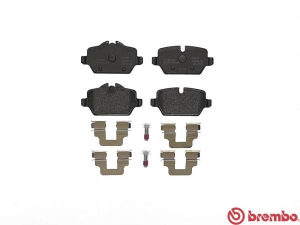 【ブレンボ】ブレーキパッド MINI MINI PACEMAN (R61) [ SSJCW ][ 13/03~ ][ REAR ] 【 ブラック | 《グレード》JOHN COOPER WORKS 】