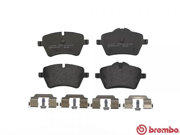 【ブレンボ】ブレーキパッド MINI MINI ROADSTER (R59) [ SY16S ][ 12/01~ ][ FRONT ] 【 ブラック | 【注8】/JCW Sport Brake (1POT) (ドリルド&スリット)/《グレード》COOPER S 】