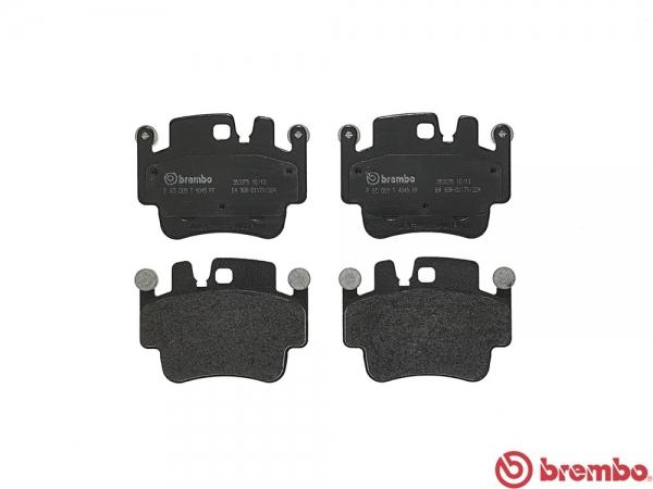 【ブレンボ】ブレーキパッド PORSCHE 911 (996)[ 00~03 ][ REAR ] 【 ブラック | Front 4POT/《グレード》3.6 GT3 】