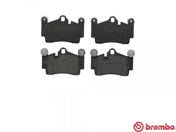【ブレンボ】ブレーキパッド PORSCHE CAYENNE (955) [ 9PA00 ][ 02/09~06/12 ][ REAR ] 【 ブラック | 《グレード》S 4.5 V8 】