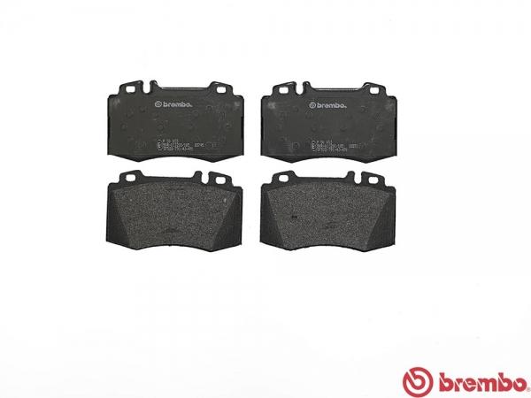 【ブレンボ】ブレーキパッド MERCEDES BENZ W211 (SEDAN) [ 211070 ][ 02/06~06/07 ][ FRONT ] 【 レッド | Sport Package含む/《グレード》E500 】