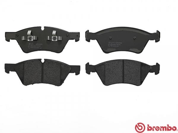 【ブレンボ】ブレーキパッド MERCEDES BENZ W211 (SEDAN) [ 211087 ][ 05/02~09/08 ][ FRONT ] 【 ブラック   車台No.X196565→(Sport Package)/《グレード》E350 4MATIC 】
