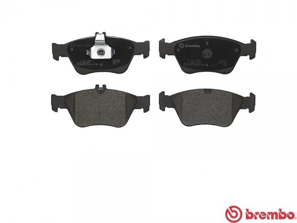 【ブレンボ】ブレーキパッド MERCEDES BENZ W208 [ 208335208344 ][ 97/9~02/03 ][ FRONT ] 【 レッド | 《グレード》CLK200 / 200 Kompressor 】