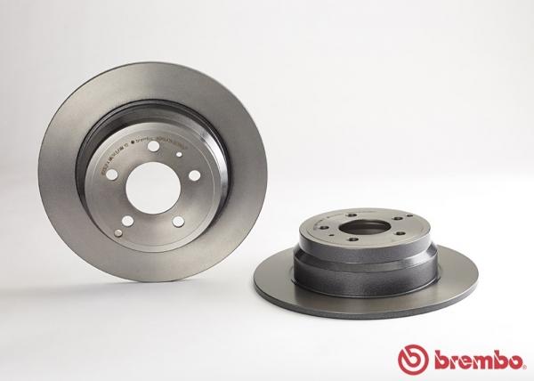 【ブレンボ】ブレーキローター VOLVO V70 (I) [8B5254W 8B5244W][97/7~00/03][REAR] 【 16inch Brake (302mm DISC)/《グレード》2.4T/2.5T (FF) 】