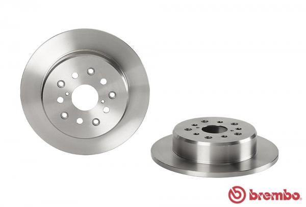 【ブレンボ】ブレーキローター TOYOTA アルテッツァ [SXE10 GXE10][98/10~05/07][REAR] 【 16&17inch wheel (Fr.296mm DISC) 】