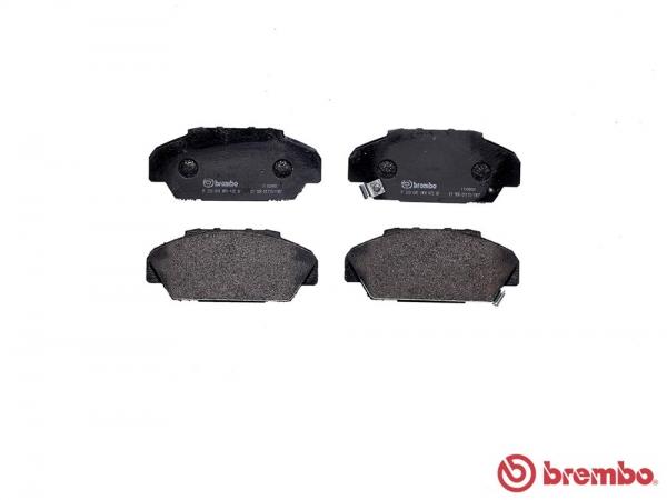 【ブレンボ】ブレーキパッド HONDA アスコット [ CB1 CB3 ][ 89/9~93/9 ][ FRONT ] 【 ブラック | Rear DRUM 】