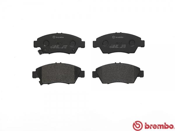 【ブレンボ】ブレーキパッド フィット GE8 07/10~09/10 フロント ブラック 車台番号→1300000/16inch・リア DISC