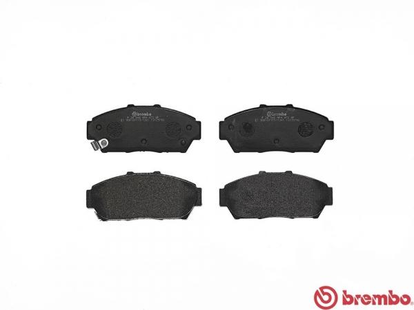 【ブレンボ】ブレーキパッド HONDA インテグラ [ DC2 DB8 ][ 93/6~01/07 ][ FRONT ] 【 ブラック   Si/Si-R 】