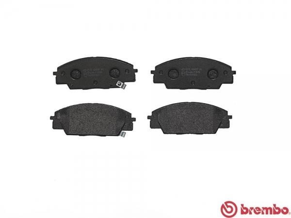【ブレンボ】ブレーキパッド HONDA インテグラ [ DC5 ][ 04/09~ ][ FRONT ] 【 セラミック | TYPE-S 】