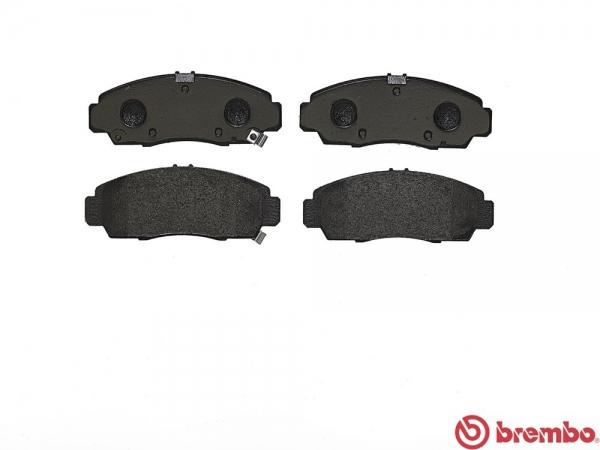 【ブレンボ】ブレーキパッド HONDA インスパイア / セイバー [ UC1 ][ 03/06~07/11 ][ FRONT ] 【 ブラック 】
