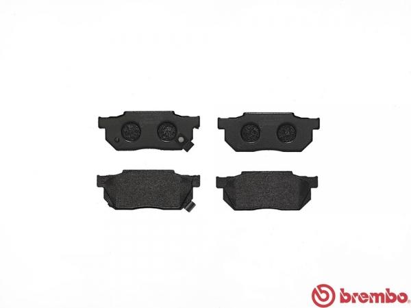 【ブレンボ】ブレーキパッド シビック AT AU 83/9~87/9 フロント ブラック 車台番号→1200000