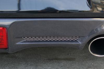 Z34 | リアバンパーカバー / リアハーフ【キュリオスモデルス】フェアレディZ Z34 リアアンダーパネル カーボン