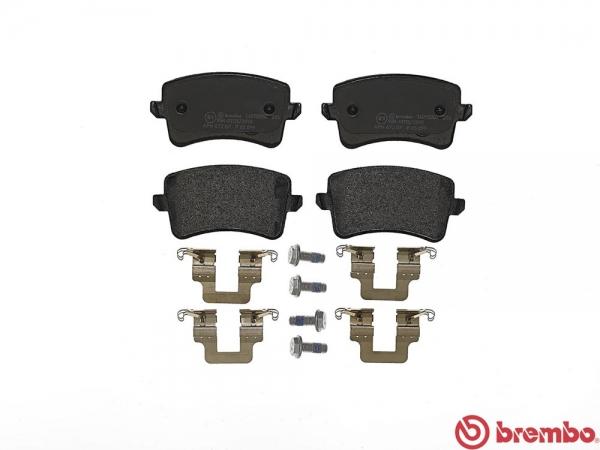 【ブレンボ】ブレーキパッド AUDI S5 [ 8TCAUF ][ 08/02~11/12 ][ REAR ] 【 セラミック | 《グレード》4.2 FSI QUATTRO 】
