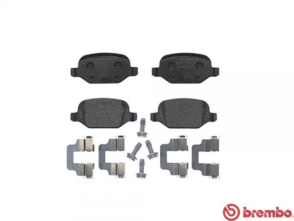 【ブレンボ】ブレーキパッド ALFAROMEO 147 [ 937BXB ][ 04/03~ ][ REAR ] 【 レッド | 《グレード》1.6 TWIN SPARK 】