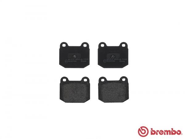 【ブレンボ】ブレーキパッド ALFAROMEO 75 [ 162162B30 ][ 85~89/10 ][ FRONT ] 【 ブラック | Double Sensor車/《グレード》2.5i / 3.0i V6 】