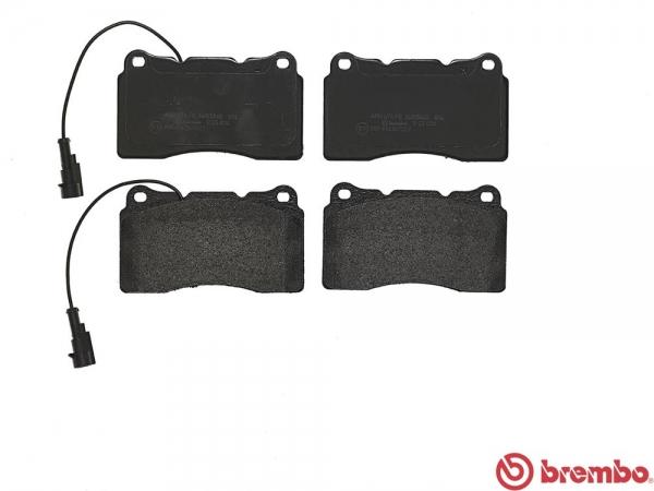 【ブレンボ】ブレーキパッド ALFAROMEO SPIDER [ 93932S ][ 06/10~ ][ FRONT ] 【 ブラック | 《グレード》3.2 JTS Q4 】