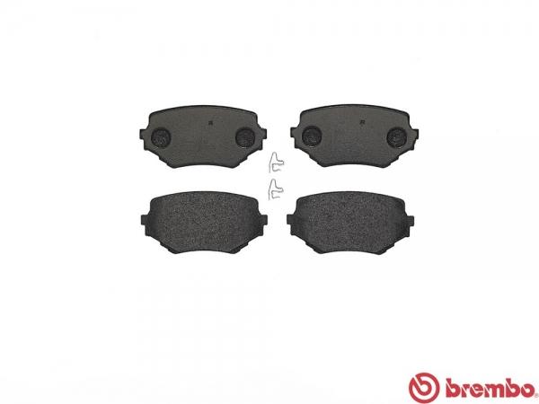 【ブレンボ】ブレーキパッド SUZUKI エスクード [ TD11W ][ 88/5~97/10 ][ FRONT ] 【 ブラック | 車台No.107047→ 】