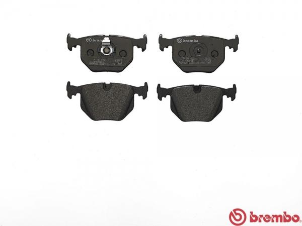 【ブレンボ】ブレーキパッド BMW E38 [ GK50 GJ50 L7 ][ 98/9~01/09 ][ REAR ] 【 レッド | 《グレード》750 】