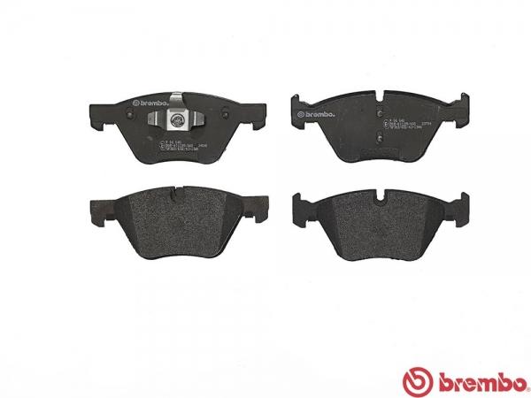 【ブレンボ】ブレーキパッド BMW E92/E93 [ WA20 ][ 07/05~10/05 ][ FRONT ] 【 ブラック | 【注2】《グレード》320i 】