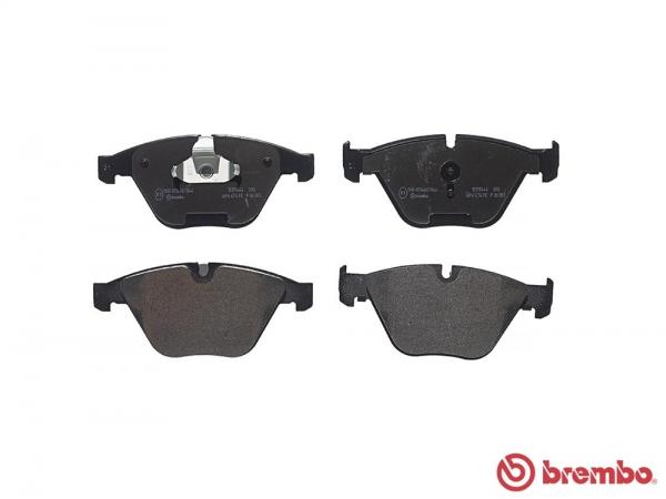 【ブレンボ】ブレーキパッド BMW E92/E93 [ WB35 KG35 ][ 06/09~10/05 ][ FRONT ] 【 ブラック | 【注2】《グレード》335i Coupe / Cabriolet 】